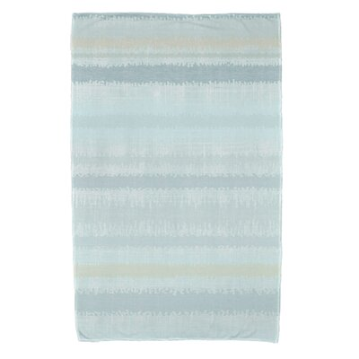 Dorazio Raya De Agua Beach Towel Color: Aqua