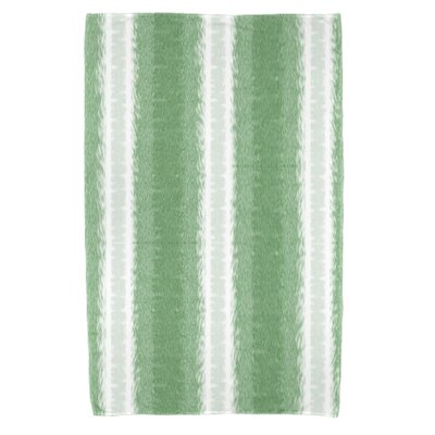 Navarro Lines Beach Towel Color: Green