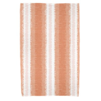 Navarro Lines Beach Towel Color: Orange