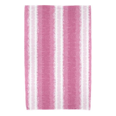 Navarro Lines Beach Towel Color: Pink