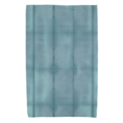 Rafia Pool Beach Towel Color: Teal