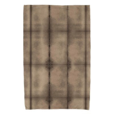 Rafia Pool Beach Towel Color: Brown