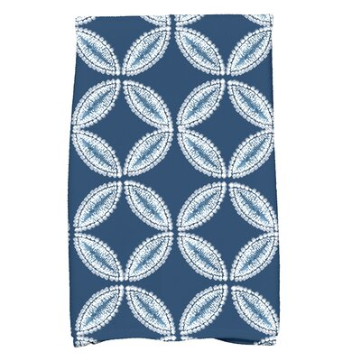 Viet Tidepool Hand Towel Color: Blue