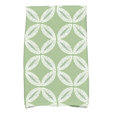 Viet Tidepool Hand Towel Color: Green