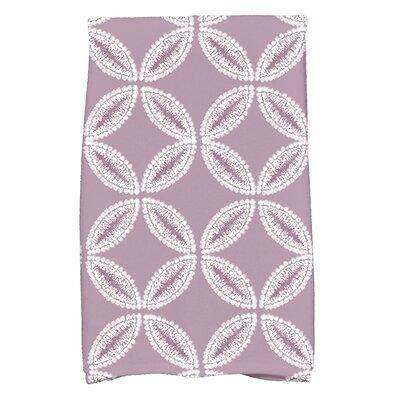 Rafia Tidepool Hand Towel Color: Lavender