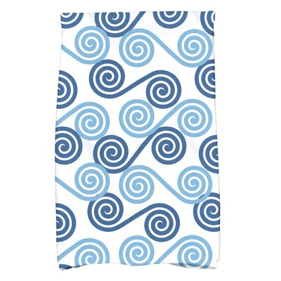 Nikkle Rip Curl Hand Towel Color: Blue