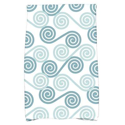 Nikkle Rip Curl Hand Towel Color: Aqua