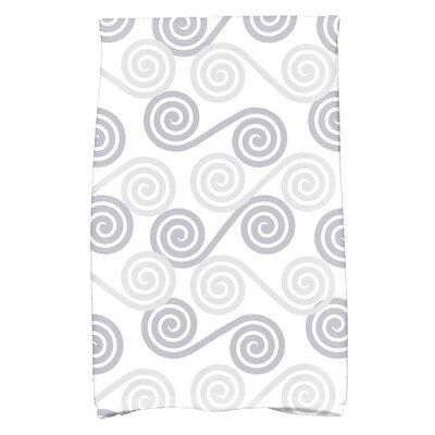 Rafia Rip Curl Hand Towel Color: Gray
