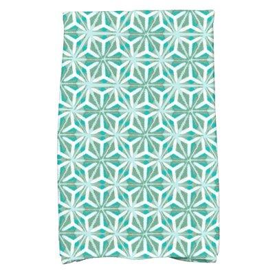 Viet Mosaic Hand Towel Color: Aqua