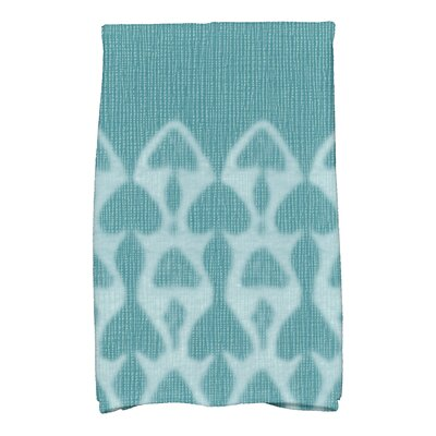 Viet Watermark Hand Towel Color: Teal