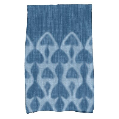 Viet Watermark Hand Towel Color: Blue