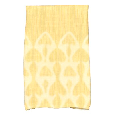 Rafia Watermark Hand Towel Color: Yellow