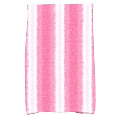 Rafia Sea Lines Hand Towel Color: Pink