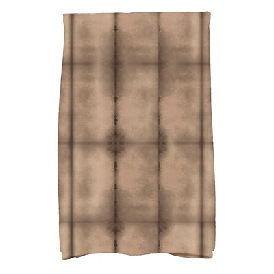 Viet Pool Hand Towel Color: Brown