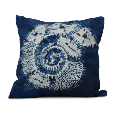 Viet Conch Indoor/Outdoor Throw Pillow Color: Blue, Size: 20 H x 20 W