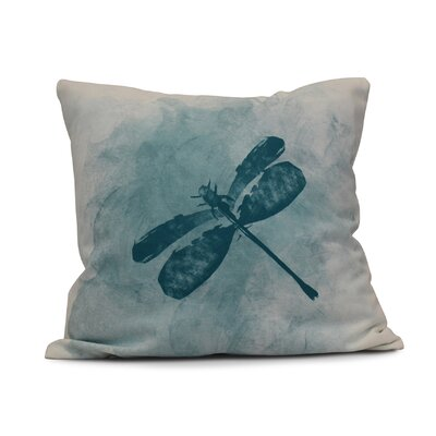 Oneill Dragonfly Summer Indoor/Outdoor Throw Pillow Size: 16 H x 16 W