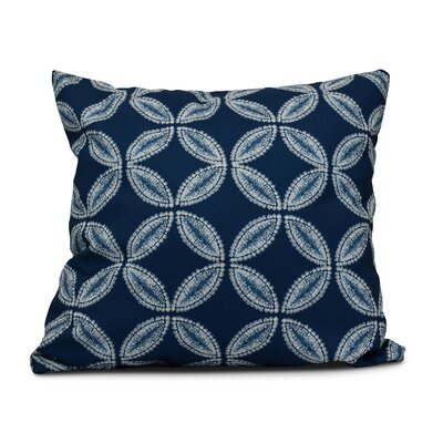 Viet Tidepool Indoor/Outdoor Throw Pillow Size: 16 H x 16 W, Color: Blue