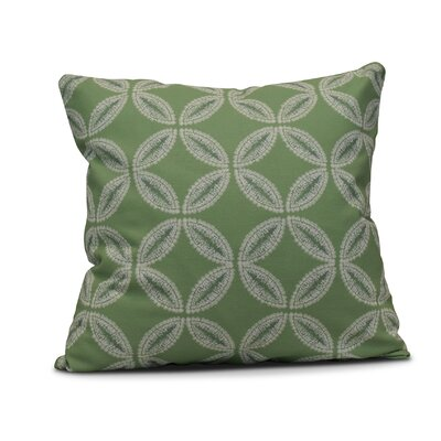 Viet Tidepool Indoor/Outdoor Throw Pillow Size: 18 H x 18 W, Color: Green