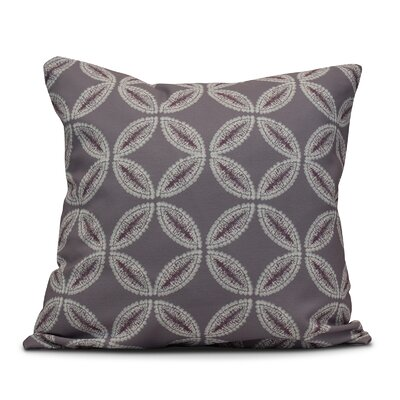 Viet Tidepool Indoor/Outdoor Throw Pillow Size: 16 H x 16 W, Color: Lavender