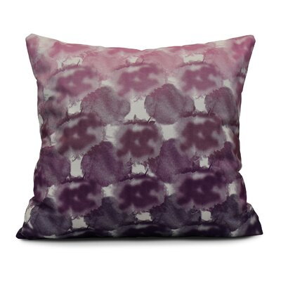 Viet Square Indoor/Outdoor Throw Pillow Size: 16 H x 16 W, Color: Purple