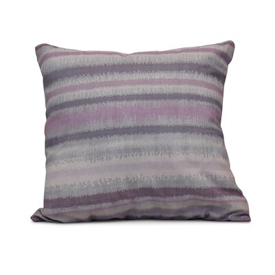Dorazio Raya De Agua Indoor/Outdoor Throw Pillow Size: 18 H x 18 W, Color: Lavender