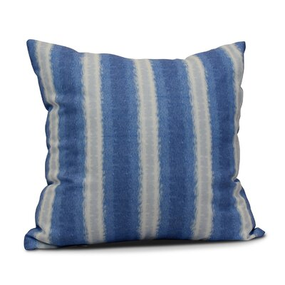 Wilkinsburg Sea Lines Indoor/Outdoor Throw Pillow Size: 20