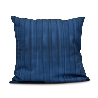 Viet Pool Indoor/Outdoor Throw Pillow Size: 16 H x 16 W, Color: Navy Blue