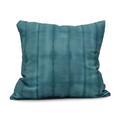 Rafia Pool Indoor/Outdoor Throw Pillow Size: 18 H x 18 W, Color: Teal
