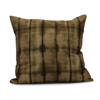 Rafia Pool Indoor/Outdoor Throw Pillow Size: 20 H x 20 W, Color: Brown