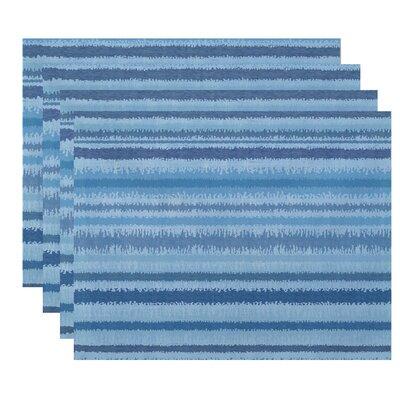 Rafia Raya De Agua Placemat Color: Light Blue WDMG5225 32665154
