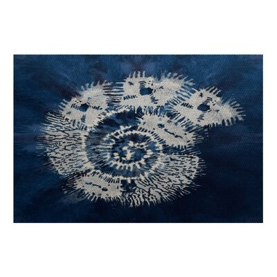 Viet Blue/Beige Indoor/Outdoor Area Rug Rug Size: 4 x 6