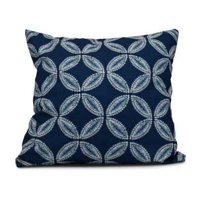 Viet Tidepool Throw Pillow Color: Blue, Size: 20 H x 20 W