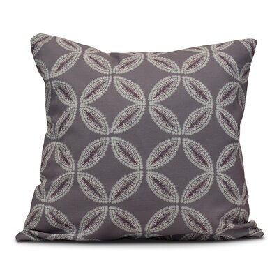 Viet Tidepool Throw Pillow Size: 26 H x 26 W, Color: Lavender