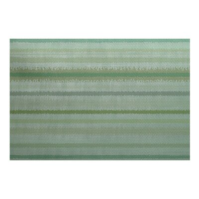 Rafia Green Indoor/Outdoor Area Rug Rug Size: 2 x 3
