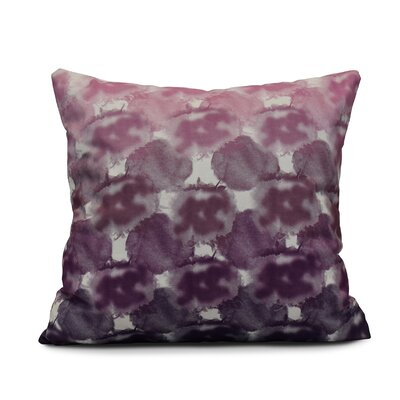 Viet Geometric Print Throw Pillow Color: Purple, Size: 26 H x 26 W