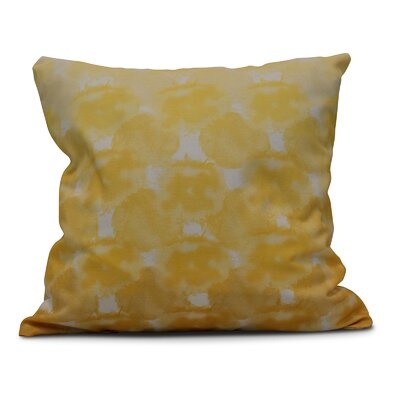 Viet Geometric Print Throw Pillow Size: 20 H x 20 W, Color: Yellow