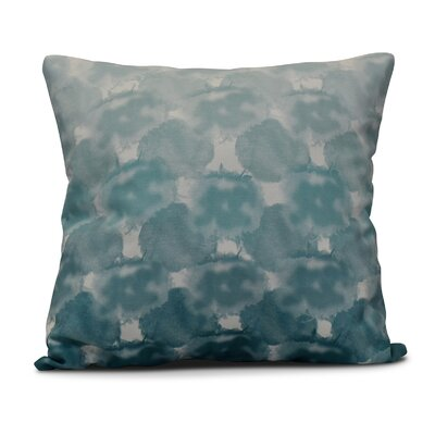 Viet Geometric Print Throw Pillow Size: 26 H x 26 W, Color: Teal