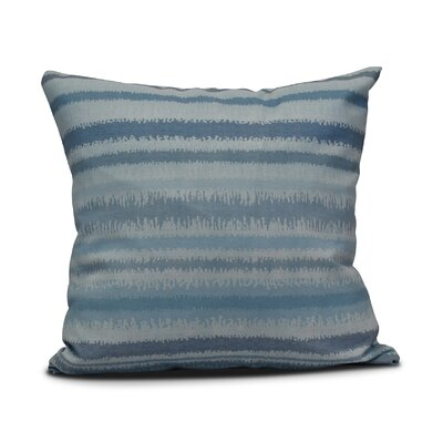 Rafia Raya De Agua Throw Pillow Size: 16 H x 16 W, Color: Light Blue