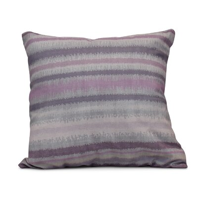 Dorazio Raya De Agua Throw Pillow Size: 26 H x 26 W, Color: Lavender