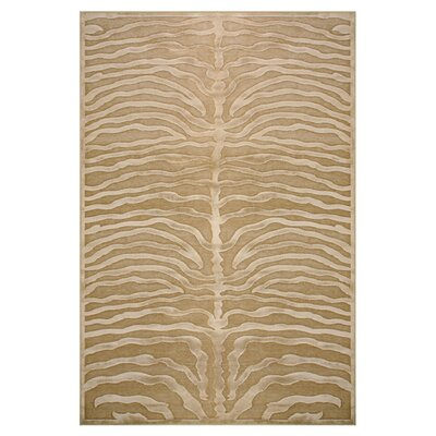 Daden Ivory/Brown Area Rug Rug Size: Rectangle 22 x 4