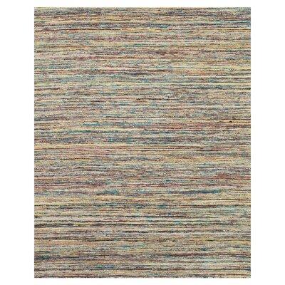 Tieast Teal/Beige Area Rug Rug Size: 5 x 8