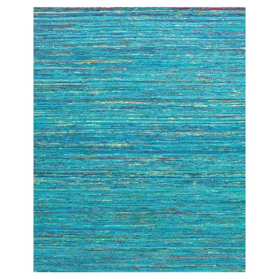 Tieast Hand Woven Blue Area Rug Rug Size: Rectangle 36 x 56