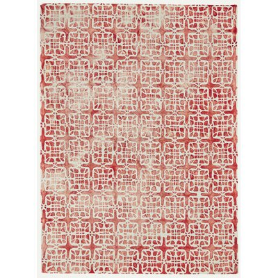 Alkmaar Pomegranate Area Rug Rug Size: Rectangle 96 x 136