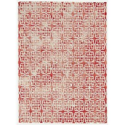Alkmaar Pomegranate Area Rug Rug Size: 96 x 136