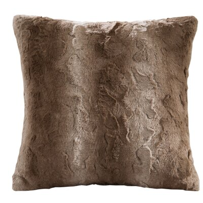 Cosima Throw Pillow Color: Tan