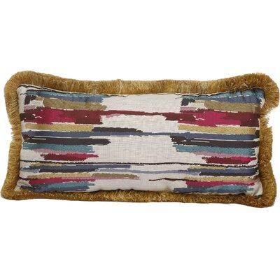 Larraine Woven Cotton Throw Pillow