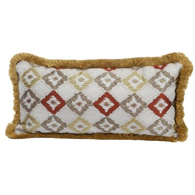 Lau Woven Cotton Lumbar Pillow