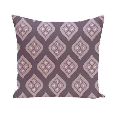 Arnisha Geometric Throw Pillow Size: 26 H x 26 W, Color: Purple / Purple