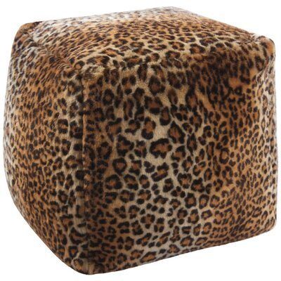 Saavedra Leopard Floor Pillow