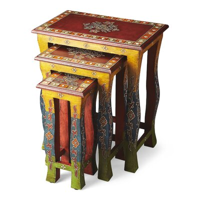 Saquia Sasha 3 Piece Nesting Tables
